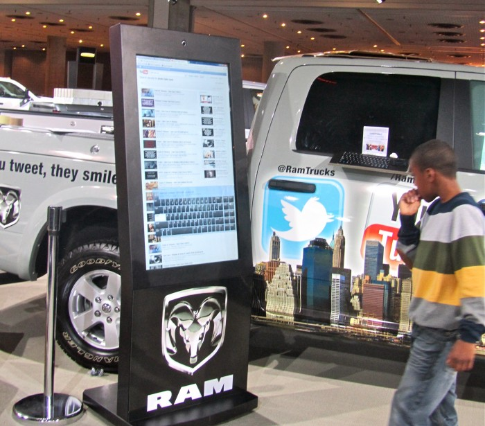 Ram Truck Display